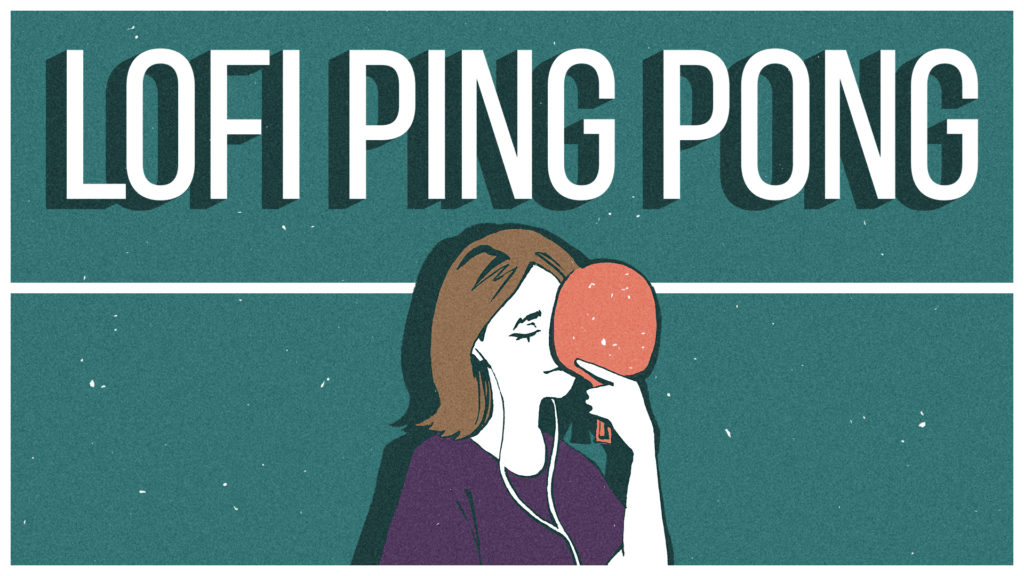 Lofi Ping Pong, from the Nintendo Store